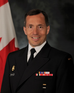 Rear-Admiral Gilles Couturier, CMM, CD